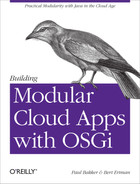 Cover image for Building Modular Cloud Apps with OSGi