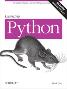 Book cover for Learning Python, 5th Edition