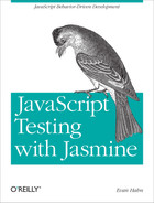 Cover image for JavaScript Testing with Jasmine