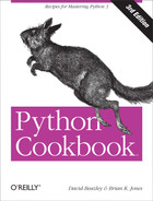 Cover of Python Cookbook, 3rd Edition