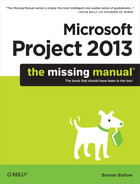 Cover image for Microsoft Project 2013: The Missing Manual