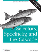 Cover of Selectors, Specificity, and the Cascade
