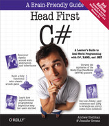 Cover of Head First C#, 3rd Edition