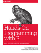 Cover image for Hands-On Programming with R