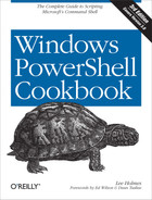 Cover image for Windows PowerShell Cookbook, 3rd Edition