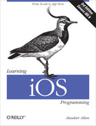 Cover image for Learning iOS Programming, 3rd Edition