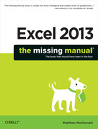 Cover image for Excel 2013: The Missing Manual