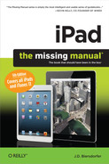Cover of iPad: The Missing Manual, 5th Edition