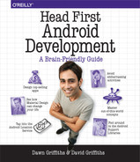 Cover of Head First Android Development