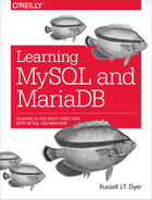Cover of Learning MySQL and MariaDB