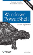 Cover image for Windows PowerShell Pocket Reference, 2nd Edition