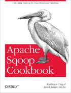 Cover image for Apache Sqoop Cookbook