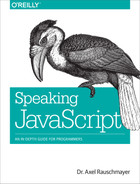 Cover image for Speaking JavaScript