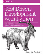 Cover of Test-Driven Development with Python