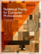 Cover image for Relational Theory for Computer Professionals