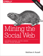 Cover of Mining the Social Web , 2nd Edition