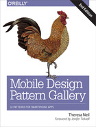 Cover of Mobile Design Pattern Gallery, 2nd Edition