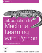 Cover of Introduction to Machine Learning with Python