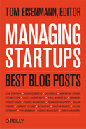 Book cover for Managing Startups: Best Blog Posts