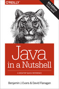 Cover of Java in a Nutshell, 6th Edition