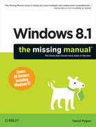 Cover image for Windows 8.1: The Missing Manual