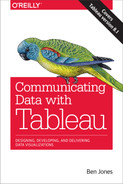 Cover of Communicating Data with Tableau