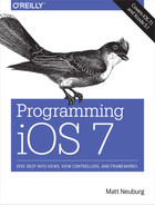 Cover image for Programming iOS 7, 4th Edition