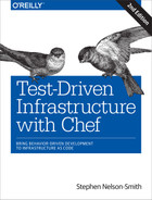 Cover of Test-Driven Infrastructure with Chef, 2nd Edition