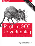 Cover image for PostgreSQL: Up and Running, 2nd Edition
