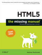 Cover image for HTML5: The Missing Manual, 2nd Edition