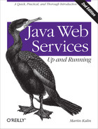 Cover of Java Web Services: Up and Running, 2nd Edition