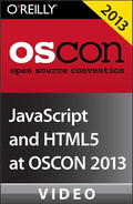 Cover image for JavaScript and HTML5 at OSCON 2013
