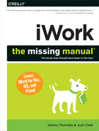 Cover image for iWork: The Missing Manual