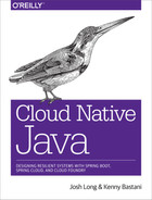 Cover of Cloud Native Java