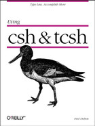 Cover image for Using csh & tcsh