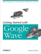 Cover image for Getting Started with Google Wave