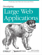 Cover image for Developing Large Web Applications