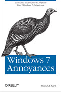 Cover image for Windows 7 Annoyances