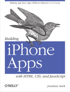 Cover image for Building iPhone Apps with HTML, CSS, and JavaScript