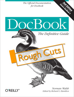 DocBook 5: The Definitive Guide