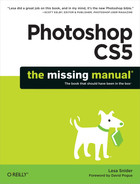 Cover image for Photoshop CS5: The Missing Manual