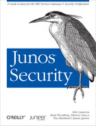 Cover of Junos Security
