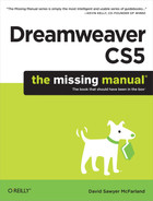 Cover image for Dreamweaver CS5: The Missing Manual