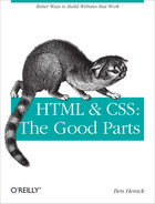 Cover image for HTML & CSS: The Good Parts