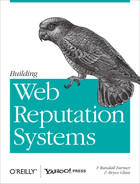 Cover image for Building Web Reputation Systems