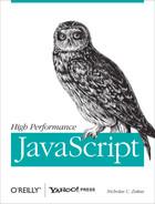 Cover Image: High Performance JavaScript, by Nicholas C. Zakas