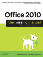 Cover image for Office 2010: The Missing Manual