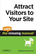 Cover image for Attract Visitors to Your Site: The Mini Missing Manual