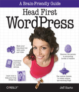 Cover of Head First WordPress