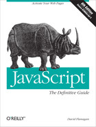 Cover of JavaScript: The Definitive Guide, 6th Edition